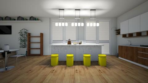 Contemporary Kitchen - Modern - Kitchen - by Indiee
