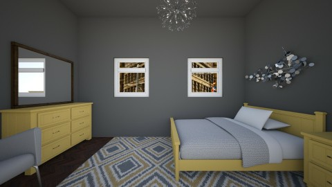 splash of color 1 - Classic - Bedroom - by newyork4everloved