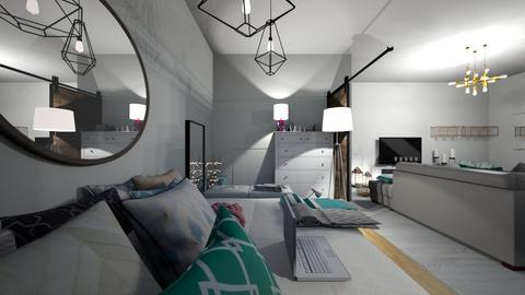my bedroom idea - Rustic - Bedroom  - by carmenouloulou