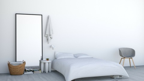 White Awake - Minimal - Bedroom  - by Maria Esteves de Oliveira