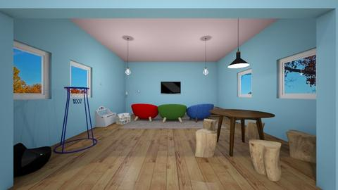 Kids Playroom - Kids room  - by michaelneilldesigns