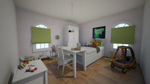 Haydens Room - Kids room - by ElsaofDesign