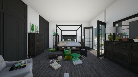 Bedroom 2 - Vintage - Bedroom  - by camilla_saurus