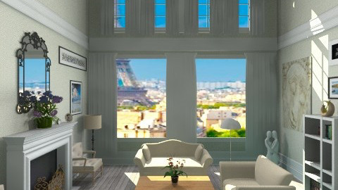 From Paris with love - Classic - Living room - by GALE88