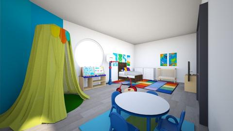 KIDS ROOM 1   5 - Kids room  - by camilaosuna