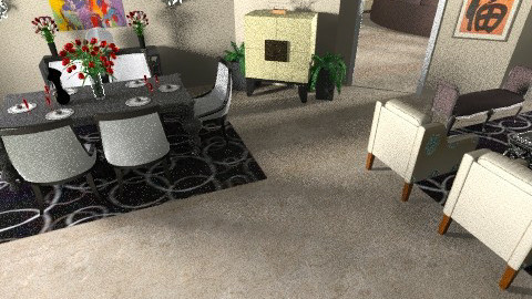Muscati_Modern LiveDine3 - Modern - Living room - by pdsmatt