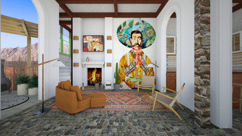 mexican - Country - Living room  - by Evangeline_The_Unicorn