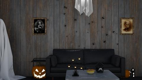 Spooky Season - Living room  - by SouthernDeco