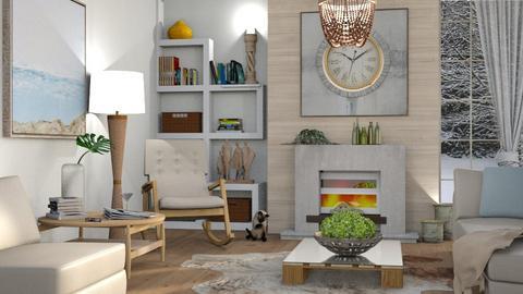 M_Winter - Living room  - by milyca8