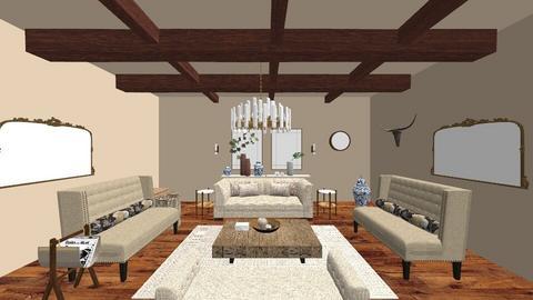 Neutral - Living room - by EllaNaznin
