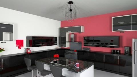 kitchen - by ganzitolex