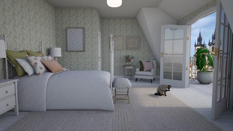 Attic room - Bedroom  - by Thrud45
