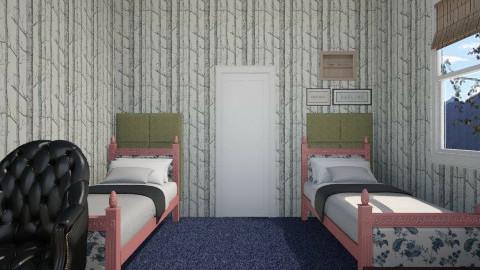 College Dorm - Classic - Bedroom  - by CeeCee_