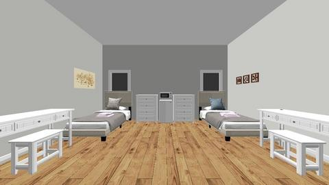 Dorm Room 3 _ Best One - Bedroom  - by elianagreenberg25
