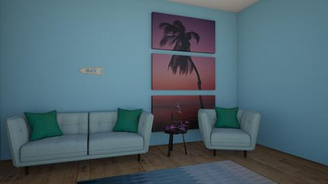 beach living room - Living room  - by youngsu27