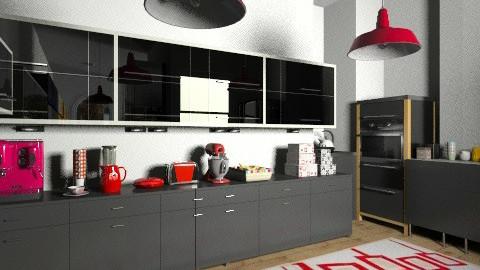 Room 2 - Modern - Kitchen - by Enn