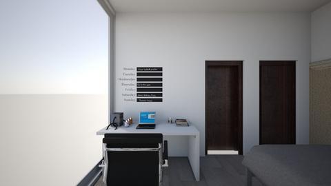 cuarto soledad 4 - Modern - Bedroom  - by renn_gcs