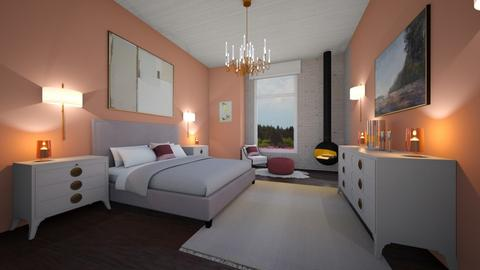romantic cabin - Feminine - Bedroom - by kat1016