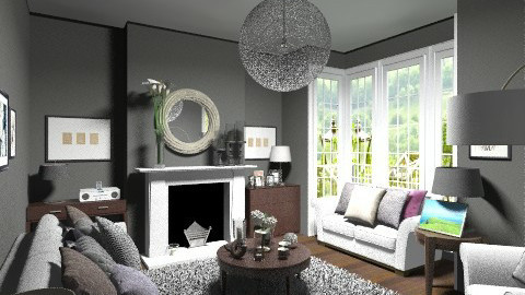 Remodel - Glamour - Living room  - by camilla_saurus
