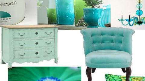 Green Blue - Eclectic - by karma kitten