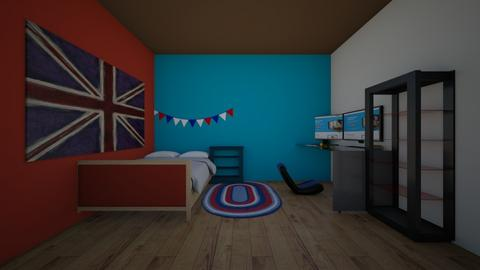 georges room - Bedroom  - by crying_room