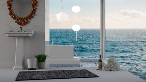 vista su oceano - Bathroom  - by Sergio Shkullaku