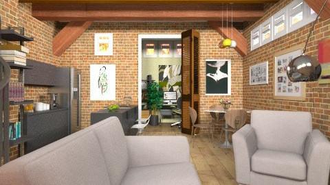 Loft Room - Classic - Living room  - by cheyjordan