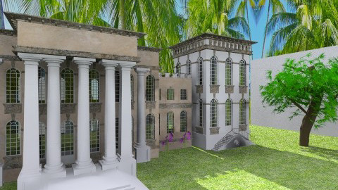 I Always Wanted A Mansion - Classic - by Aden Thompson