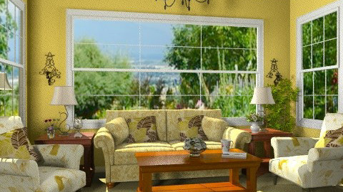 Sunny Living - Classic - Living room  - by Bibiche