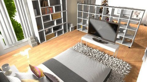 bedroomSM - Modern - Bedroom - by de Gasperis Sarah