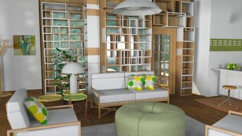 Geometric adventure - Modern - Living room - by liling