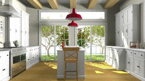 Cape Cod Kitchen - Classic - Kitchen  - by Baustin