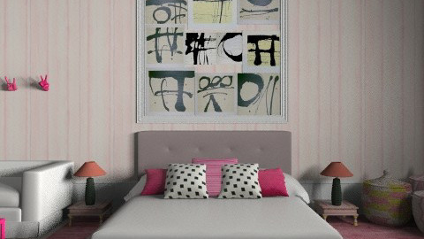 the big pink - Eclectic - Bedroom  - by The_Hunter_and_Gatherer