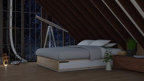 Stargazer - Bedroom  - by KittyT6
