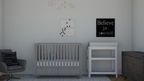 Babies room - Bedroom  - by LilLil