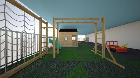Preschool inside - Garden - by Jazzyjojo177