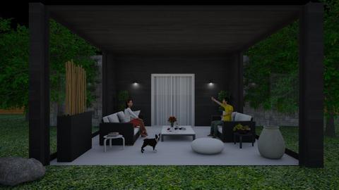 50 - Garden  - by ActressHannah