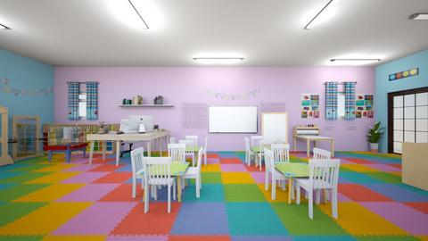 ashleys - Kids room  - by Jazalyn M
