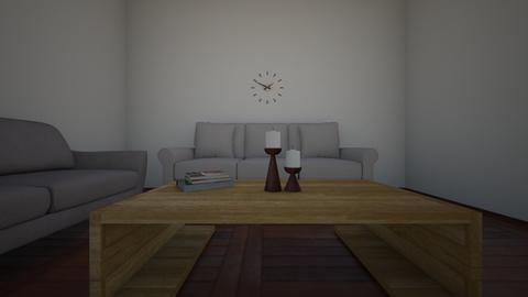 3d model of coffee table  - Living room  - by Miku1526