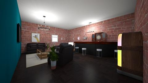 Den - Living room  - by Natalie Pearson
