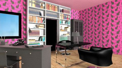 office - Modern - Office  - by martina1999