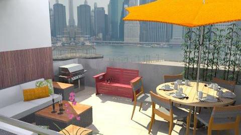 terrace - Modern - Garden  - by newyorkstyle