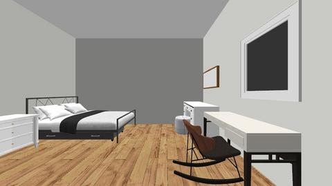 cuarto - Modern - Bedroom  - by annabananapm