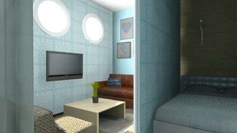 cozzy cruise - Masculine - Bedroom - by dezhero