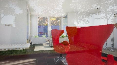 Organic Living rtr - Living room - by Maneesha1