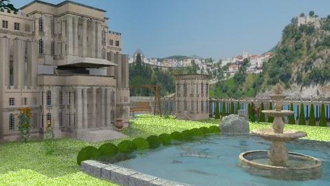 Palace - Garden  - by Gidion