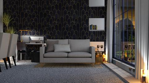 Art Deco_LR - Living room  - by KittyT6