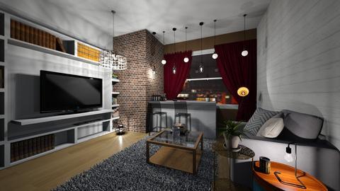 salon_bar - Living room - by emi852290