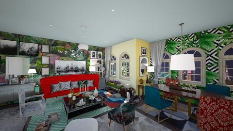 soggiorno massimalista - Living room - by enrica75