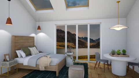 Small living - Minimal - Bedroom  - by SunflowerStudios